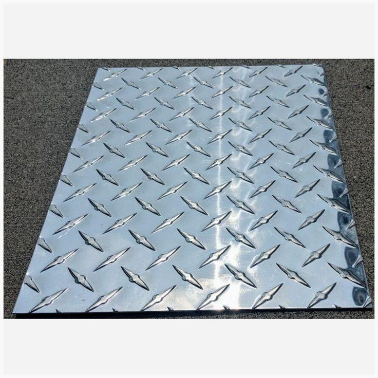 Aluminum Diamond Plate Sheet 0 125 24 X 48 3003 H 22 Diamond Plate Sheet Aluminium Sheet