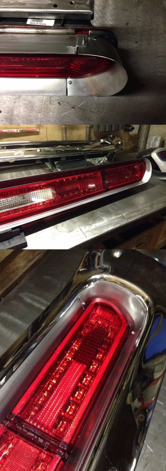 1973 dodge charger taillight conversion 2013 dodge challenger all steel frame + ...