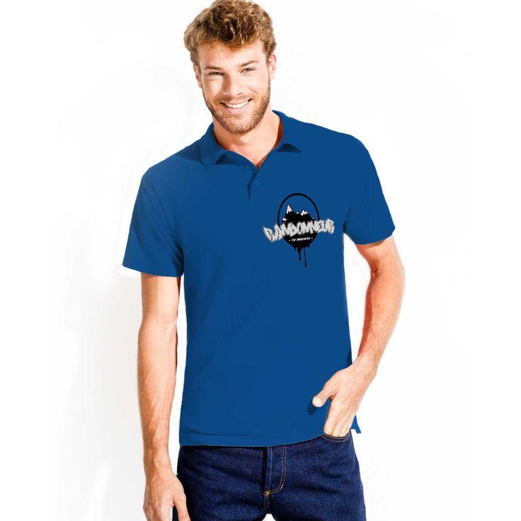 #Polo #bleu vous allez adorer!