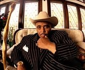 Solomon Burke. I feel some men look good young and then mellow. But not Solomon Burke. though he got bigger, he was a fine looking older man. RIP.