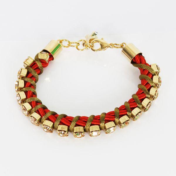 #whoswho #greenbird #abudhabi #abudhabistyle #abudhabifashion #dubai #dubaistyle #dubaifashion #marinamall #womenswear #casualwear #spring2014 #summer2014 #springsummer2014 #ss14 #accessories #bracelet #chunkybracelet #goldbracelet #redandgold #bejeweled #bejeweledbracelet
