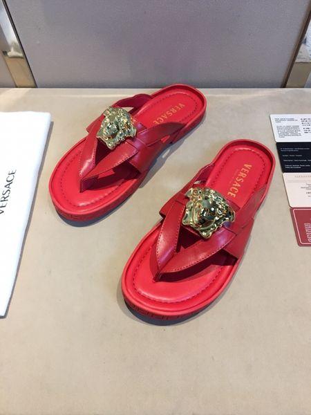 2646853e7721ba red versace flip flops slipper Versace Flip Flops