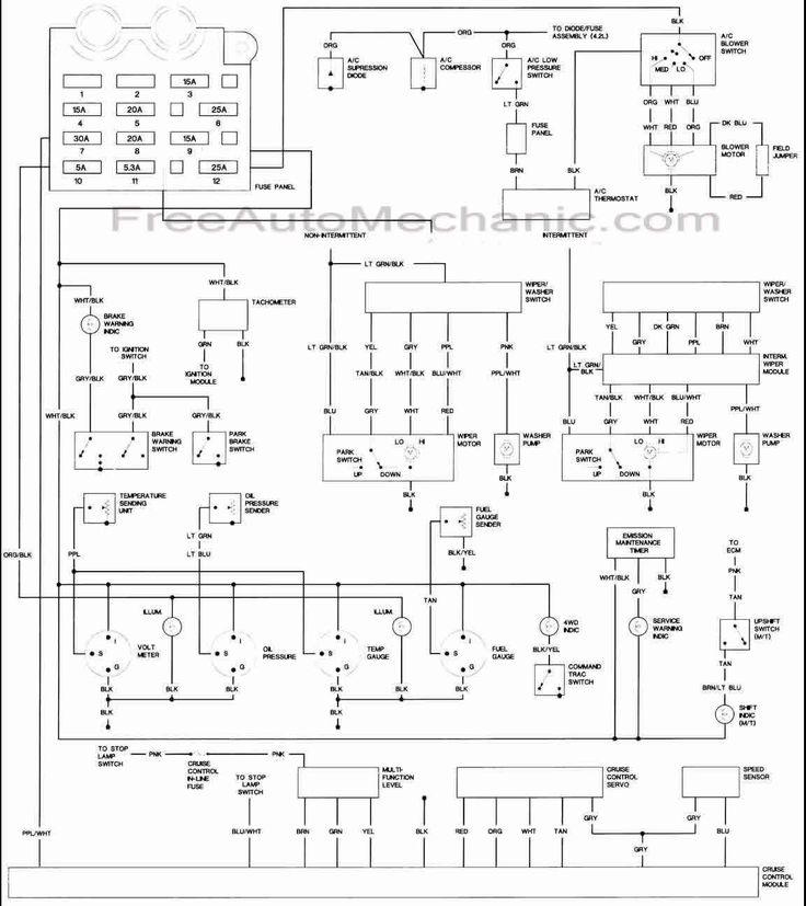 S      Freeautomechanic Com  Wiring Jeep  1987  1987