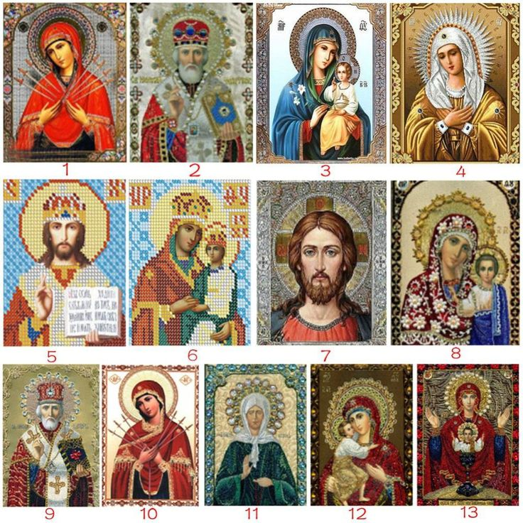 DIY 5D Diamond painting cross stitch Round Stone Needlework Diy Diamond Embroidery Religious People For Gift Home Decoration #Affiliate
