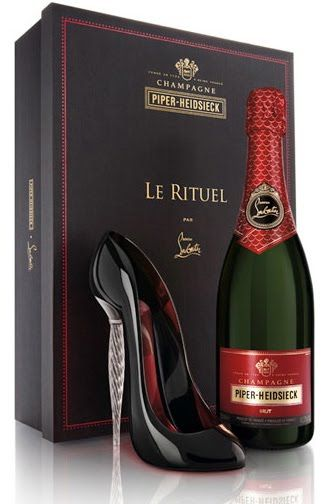 ~Piper-Heidsieck Christian Louboutin Christmas Collaboration Champagne & Stilettos | The House of Beccaria
