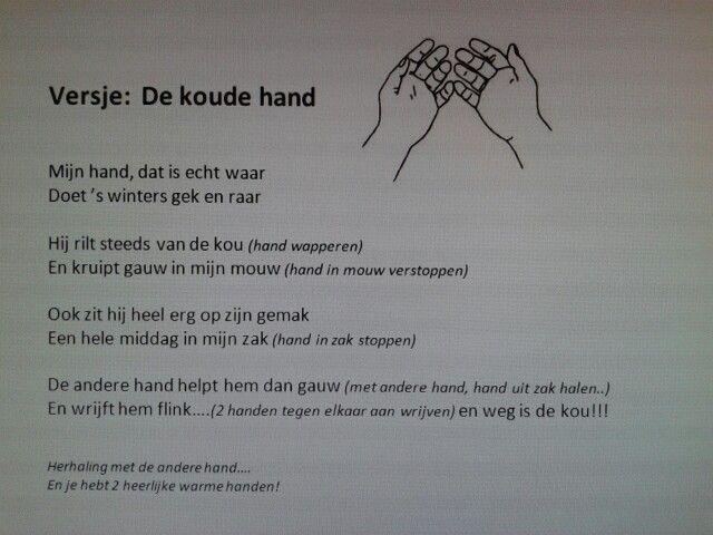 Versje de koude hand