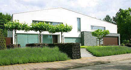 Tuinarchitect tuinontwerp moderne strakke eigentijdse - Eigentijdse landscaping ...
