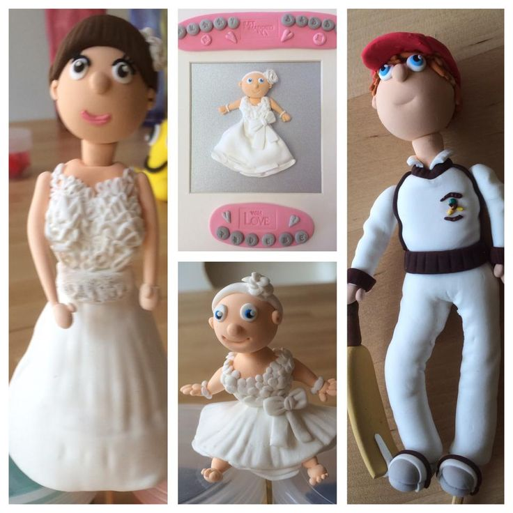 JumpingClay cake topper