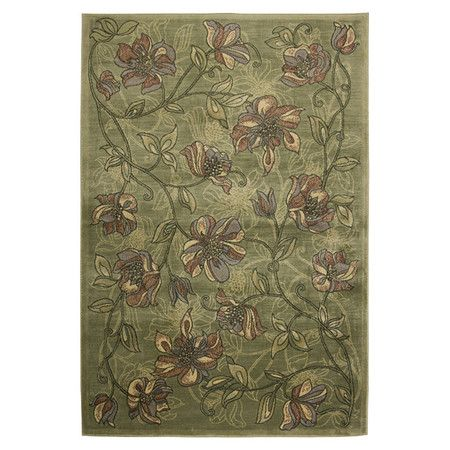 Found it at Wayfair - Sorrento Green Rug I