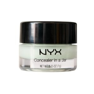 Nyx green concealer to cancel out redness (must buy!)