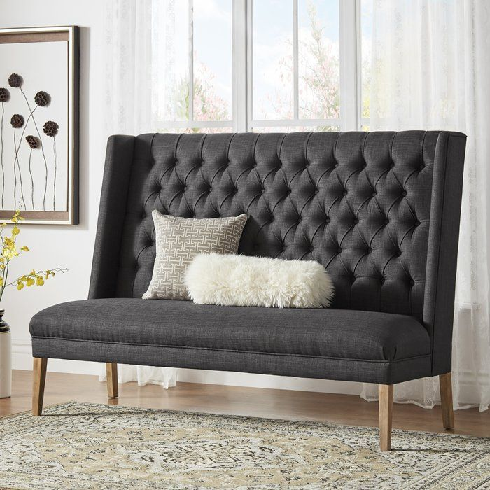 Kaitlin Tufted Upholstered Bedroom Bench With Images
