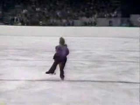 The quintessential ice dance by the legendary Torvill & Dean dancing to Bolero in the 1984 Olympics (Sarajevo). The only couple to score 6.0 from all judges, they won the gold medal. This still gives me goosebumps every time I watch it. And the location in Sarajevo is poignant - the crowning moment for a city about to be plunged into destruction.