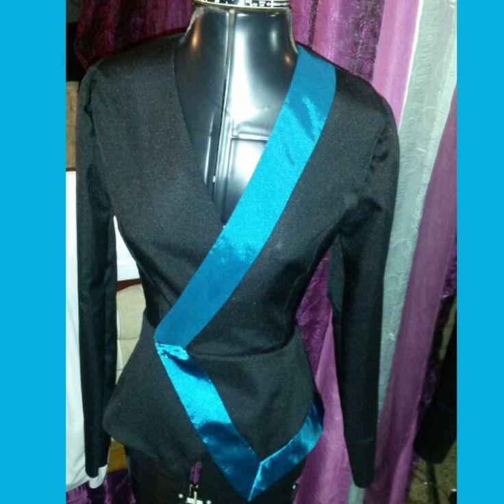 Cross over jacket  Blazer  Winter  Unique  Black blue