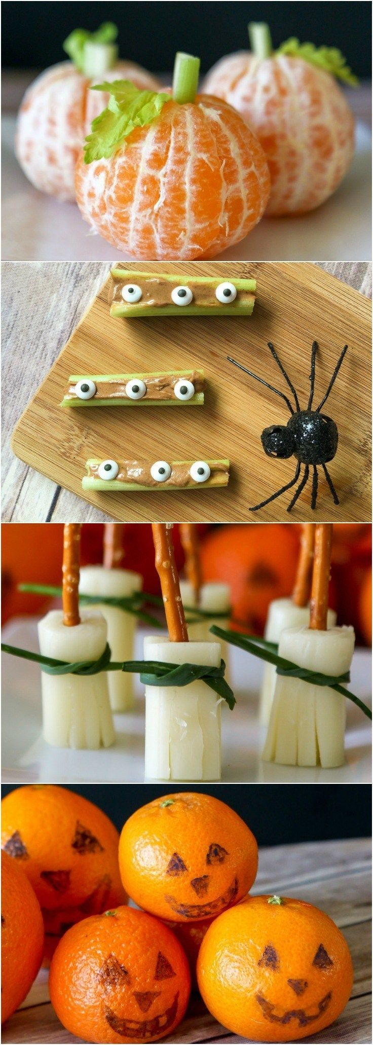 178 best food shapes for kids images on pinterest kid for Easy kid friendly halloween treats