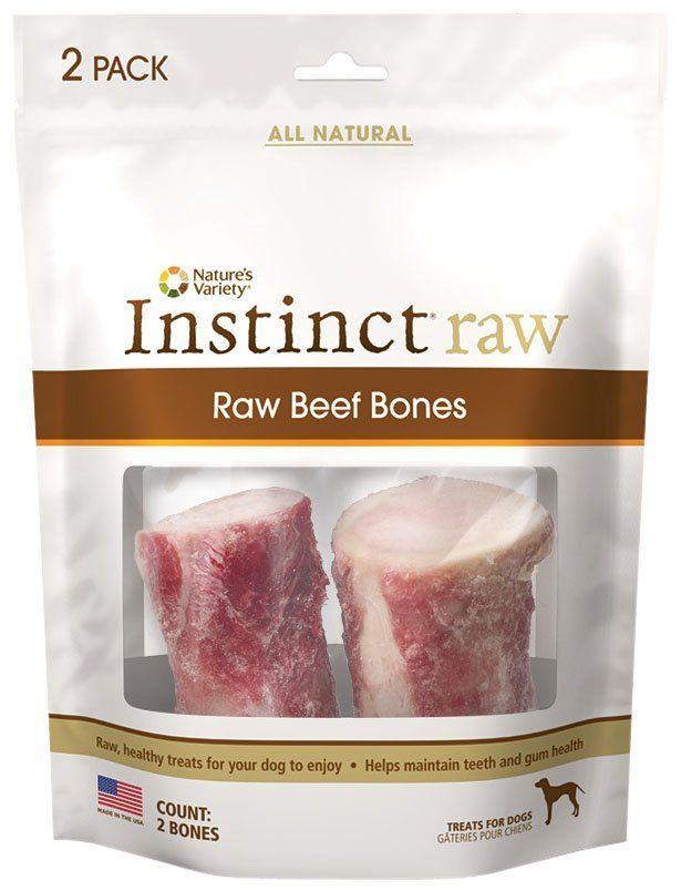 Nature's Variety Instinct Raw Frozen Beef Bones - Free Shipping