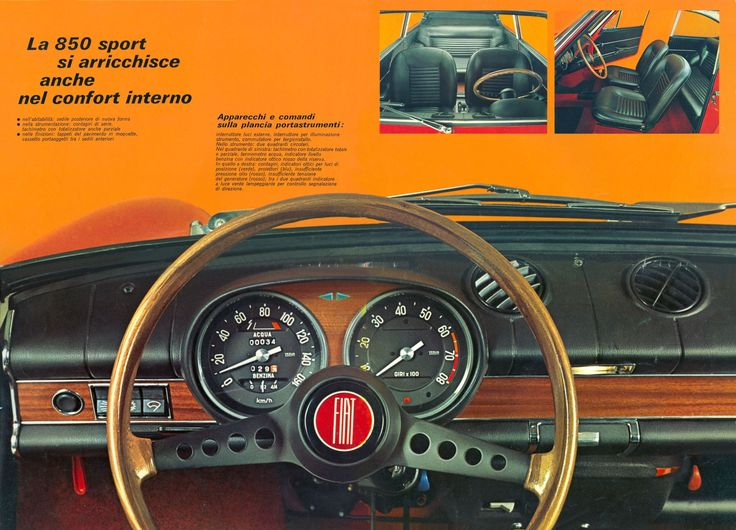1965-73 Fiat 850 Sport Coupe