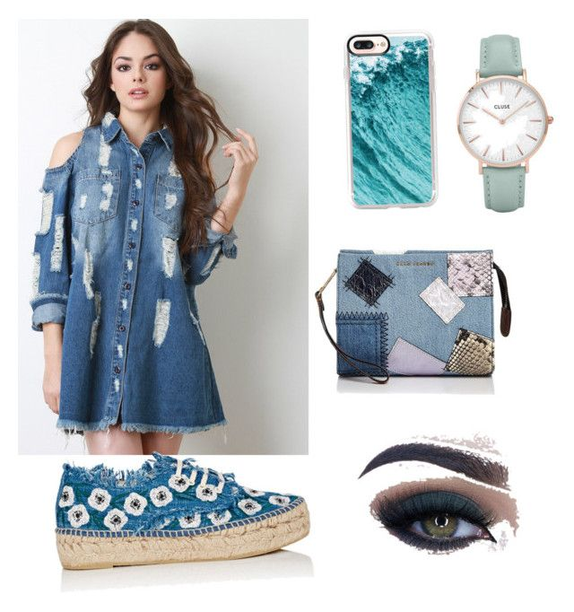 """Untitled #9"" by mariateodorabadicioiu on Polyvore featuring Casetify, Loeffler Randall, Marc Jacobs, Too Faced Cosmetics and CLUSE"