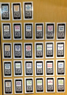 What i have learned: QR Codes