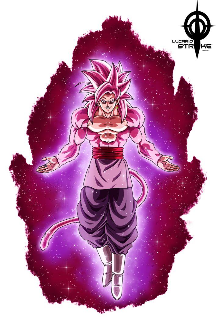 Black Goku Ssj4 by lucario-strike