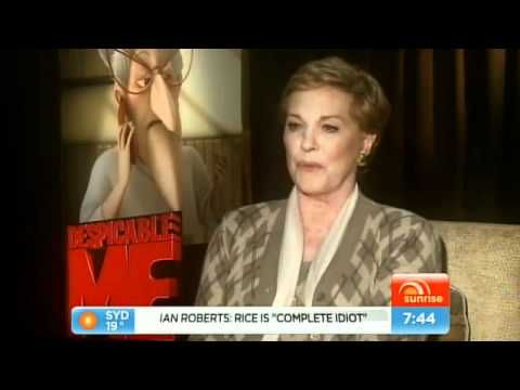 Dame Julie Andrews 'Despicable Me' interview on Sunrise with Nelson Aspen
