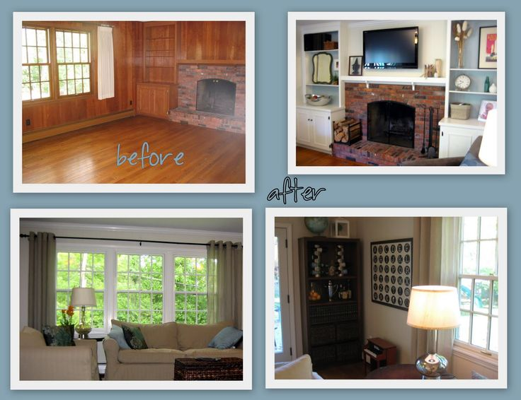 28 best updating an old house images on pinterest homes Ways to update wood paneling