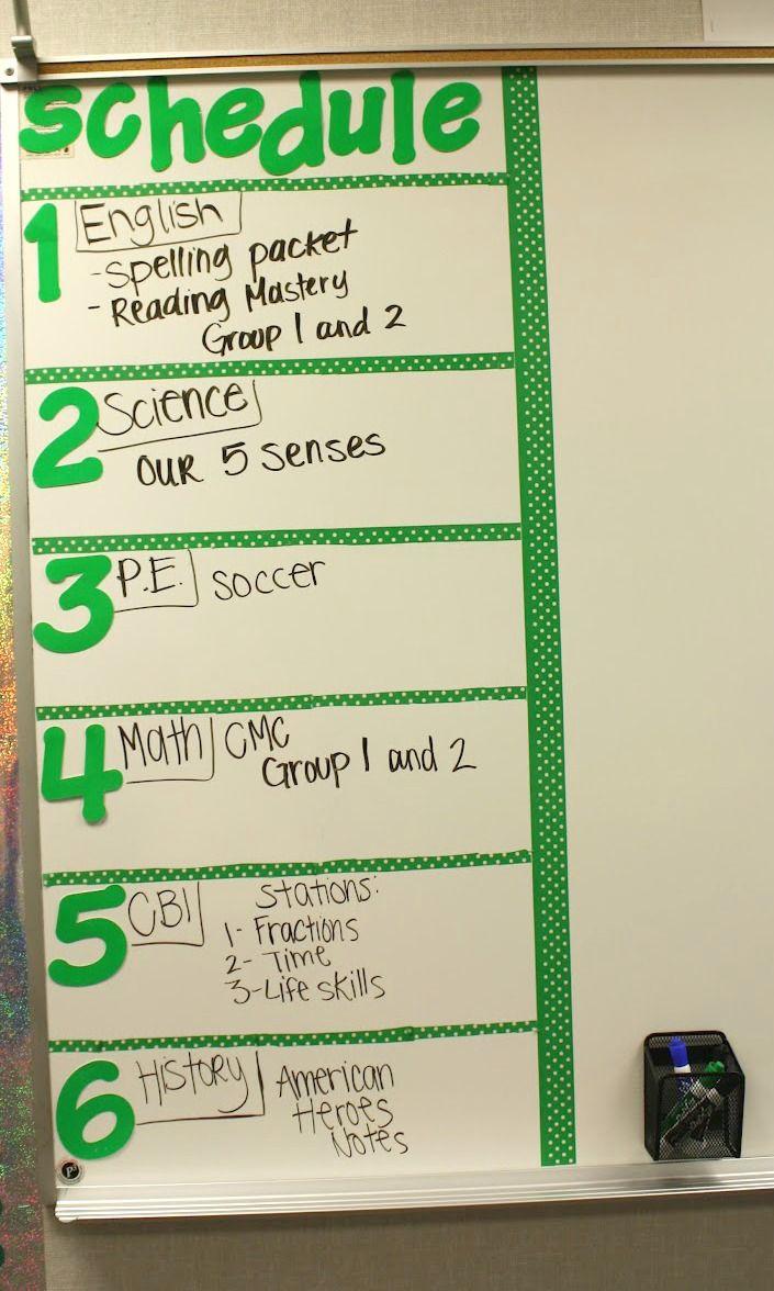 Classroom Whiteboard Ideas ~ Best classroom agenda board ideas on pinterest