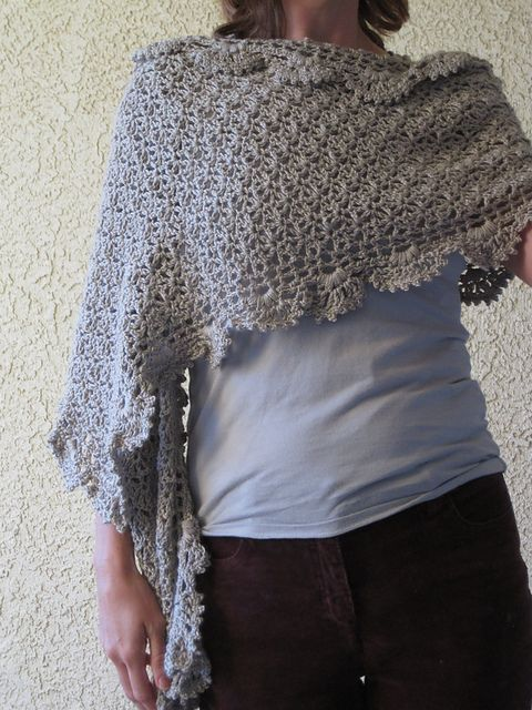 Crochet Patterns Shawls And Wraps : 17 Best images about Crochet Shawls, Wraps on Pinterest ...