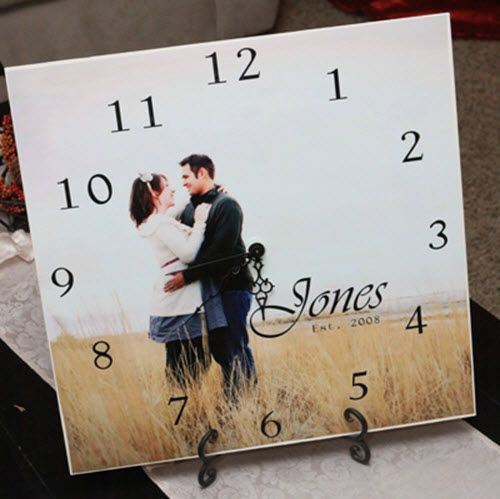 One of the best ways to capture a memory is to adapt photos into personalized photo presents. By using a familiar photo to make a picture clock, you can create an everyday item that will draw you eye throughout the day and fill your heart with an remembered bit of happiness!