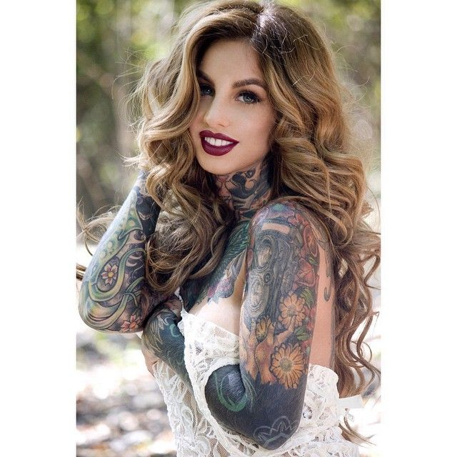 268 best f tattooed images on pinterest tattoo girls for Little linda tattoo