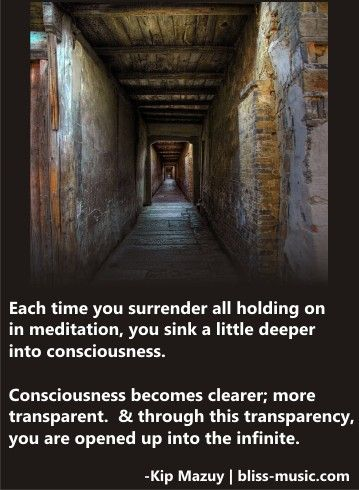 Meditation that opens you into the Infninte