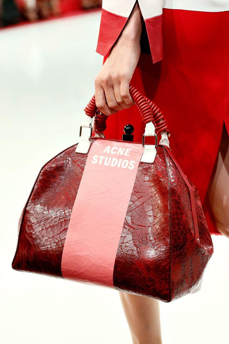 Acne S/S 2013 - LFW #bag: Natural Skin, Runway Fashion, Fashion Bags, Fashion Show, Acne Skin, Acne Springsumm, Healthy Skin Care, Fashion Weeks Runway, London Fashion Weeks