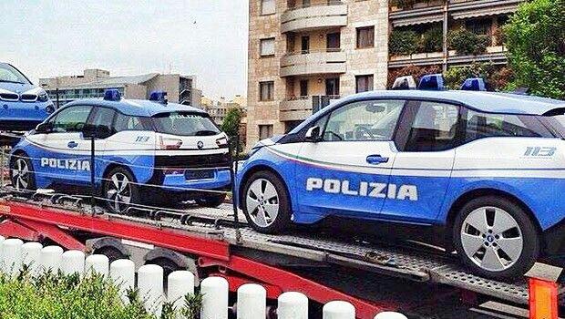 BMW I3 POLIZIA DI STATO