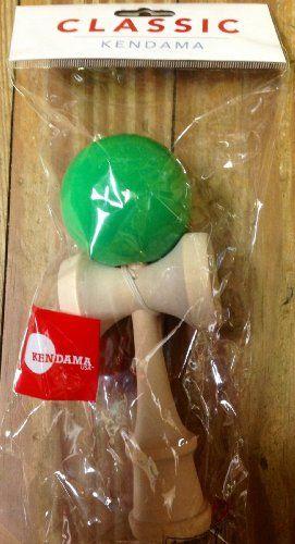 BESTSELLER! Kendama USA Classic Kendama - Green $15.99