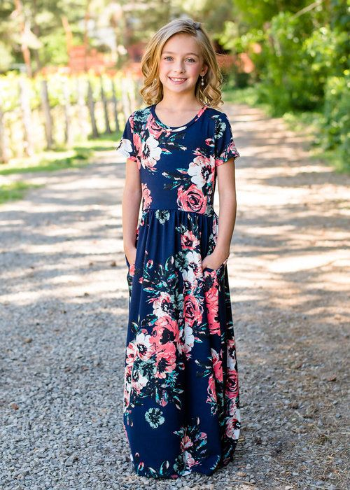 ca1eebe2b Navy Floral Maxi Dress, Dress, Floral Dress, Short Sleeve Dress, Ryleigh  Rue Clothing, Boutique, Fashion, Online Shopping, Online Boutique, Style,  ...