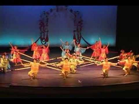 BAYANIHAN PHILIPPINE DANCE  TINIKLING  LEYTE DANCE THEATRE; boston photographer video