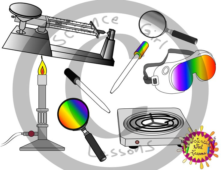 Science Tools Clip Art {Mega Pack} | Science tools ...