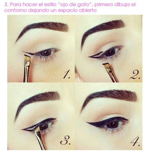 OJO DE GATO http://www.okchicas.com/belleza/geniales-trucos-maquillaje-facilitaran-vida/