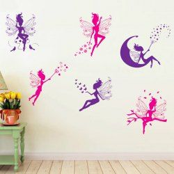 SHARE & Get it FREE | Quality Flower Fairy Shape Removeable Wall StickersFor Fashion Lovers only:80,000+ Items • FREE SHIPPING Join Twinkledeals: Get YOUR $50 NOW!