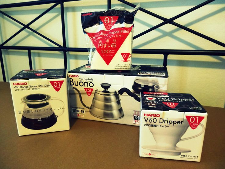 "Hario V60 complete ""coffee lab"" ..looking forward on brewing:)"