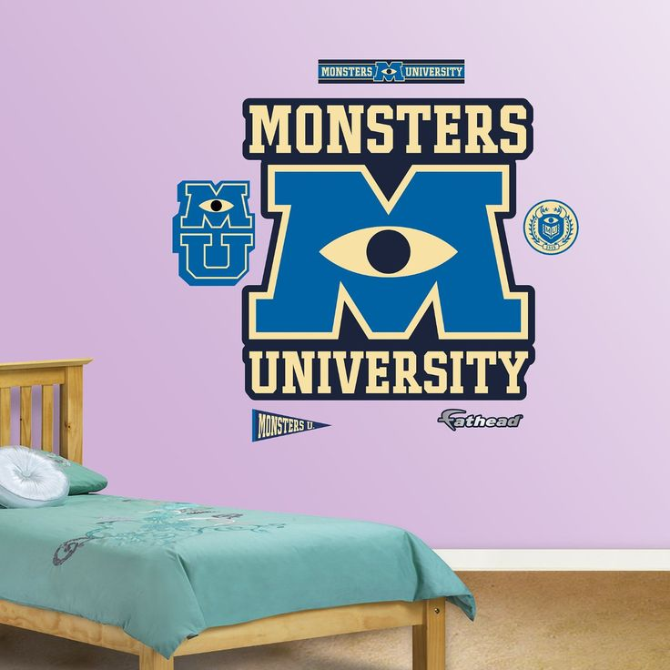 Fathead Monsters University Logo Wall Decor Part 56