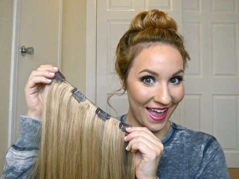 59 best hair extensions images on pinterest hairstyles hair diy how to make your own clip in hair extensions youtube pmusecretfo Gallery