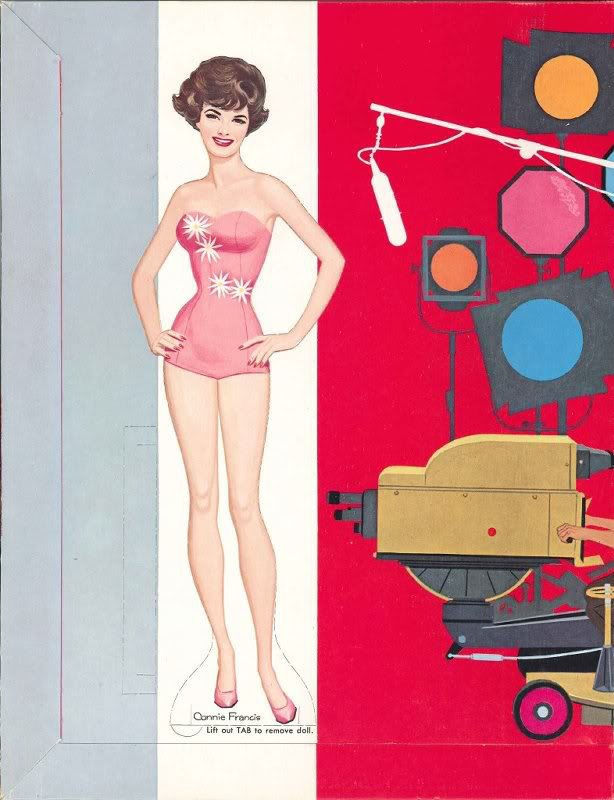 Connie Francis | LETS PLAY PAPER DOLLS | Pinterest