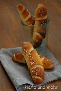 Salzstangerl (Brotbacken für Anfänger)