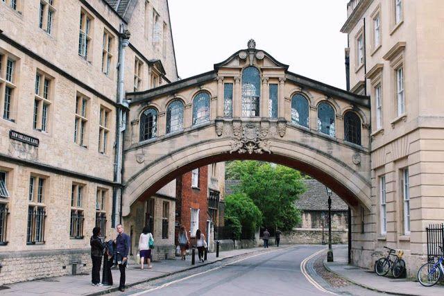 Quoi voir à Oxford, Pont des soupirs, bridge of sighs