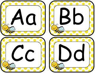 Joy of Kindergarten: Bee Themed Classroom Set