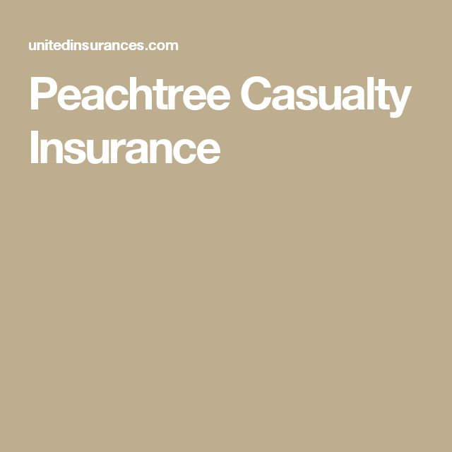 Peachtree Casualty Insurance