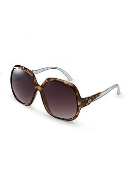 Kardashian Kollection Women's Oversized Sunglasses - Faux Tortoiseshell