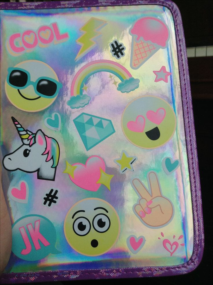 My new I pad case from justice !