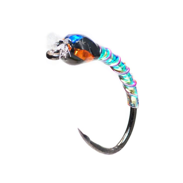 Fly Fish Food -- Fly Tying and Fly Fishing : Oil Slick Buzzer