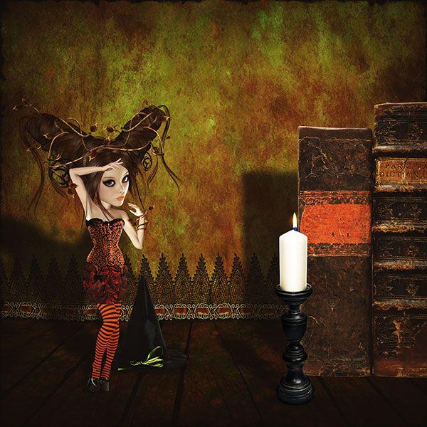 Artdoll from 'Pumpkin Witches' @ Mischief Circus